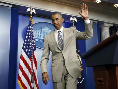 奥巴马西装得罪谁了