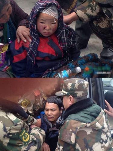 关键时刻中国军人担当<br>中尼边境协力救灾