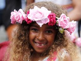 诺丁山狂欢节儿童日游行