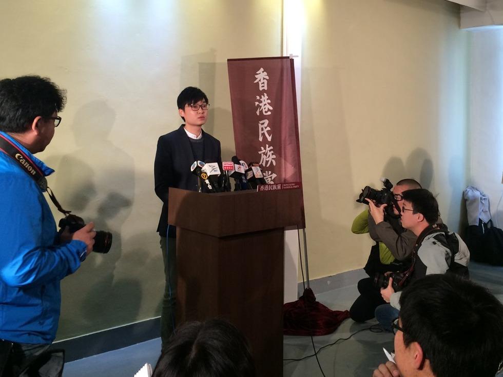 陈浩天不忍胯下之辱 誓令香港独立成事实