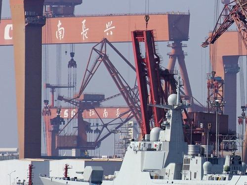 上马核航母?江南造船厂招标扩建港池