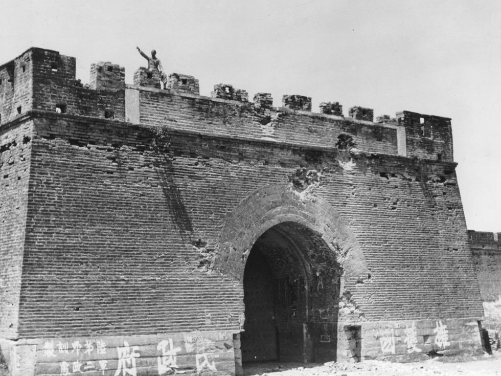 宛平城东城门。(图源:VCG)