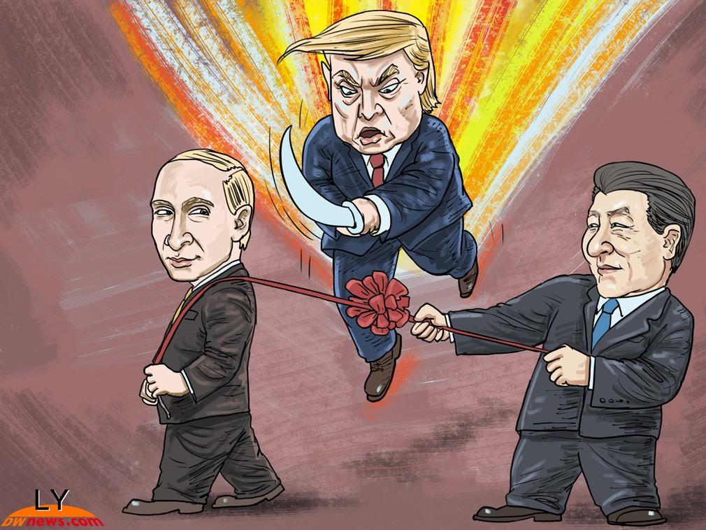 中美俄新冷战已亮起2大信号 中国3步走战略回击美