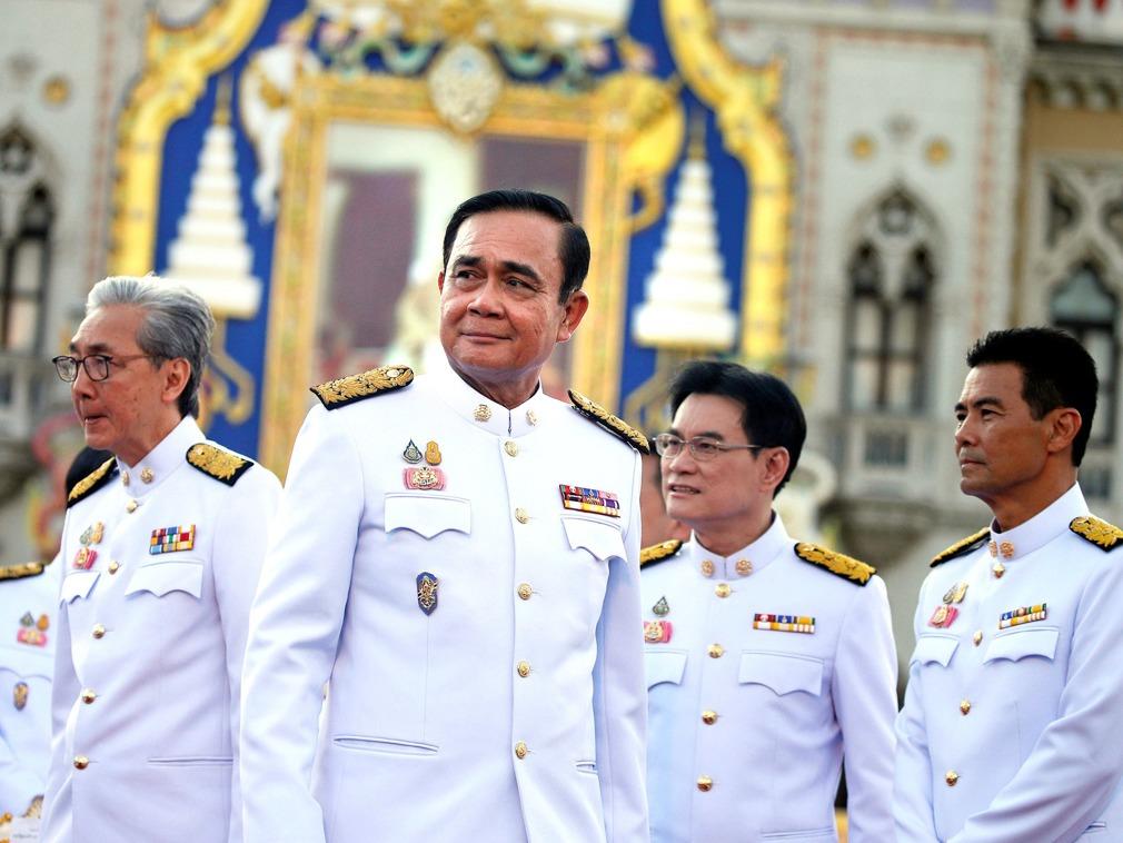 泰国新内阁宣誓就职 巴育宣布五年军人统治结束[图集]