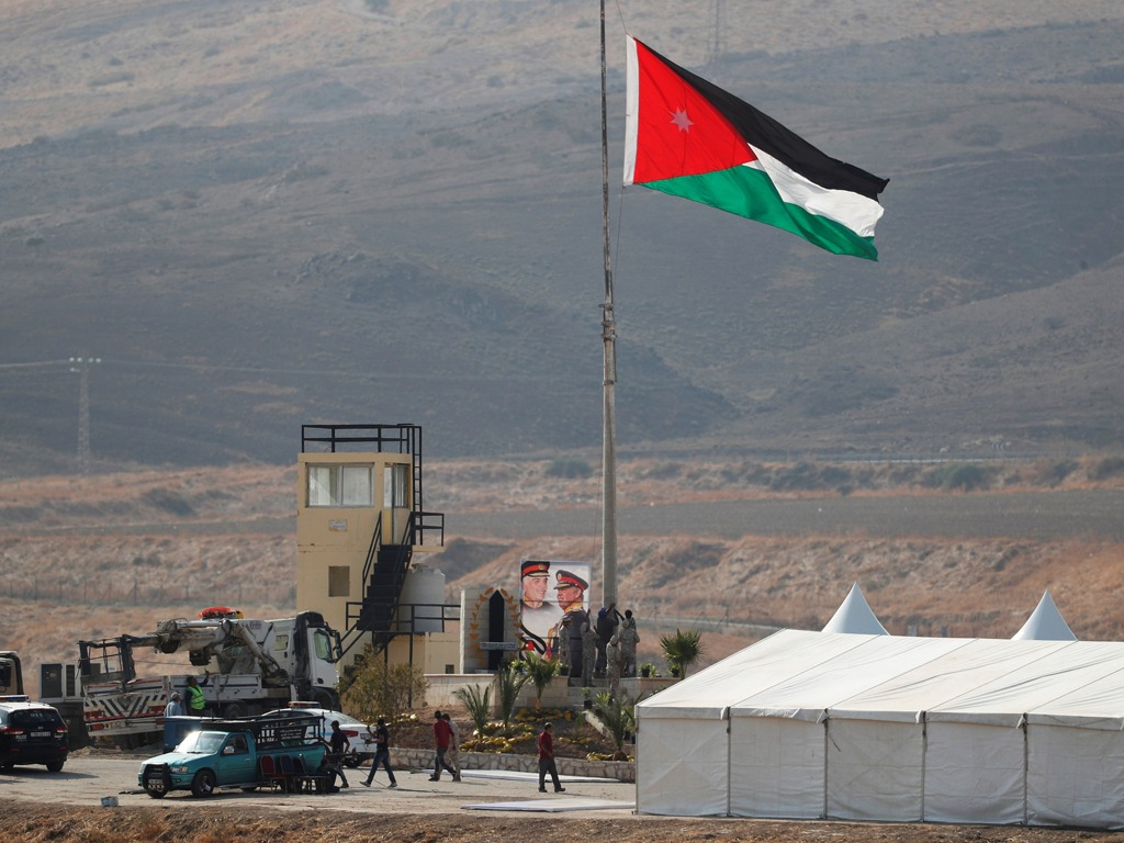 约旦宣布收回租借给以色列的两块土地 不再续约[图集]